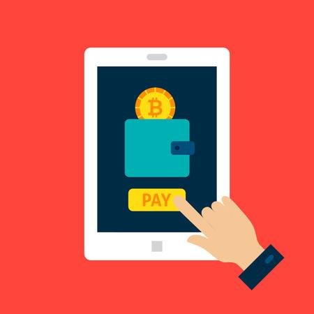 betalen met cryptocurrencies